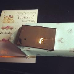 ภรรยาให้ของขวัญ วันครบรอบแต่งงาน #anniversary #puunui @nongpuka