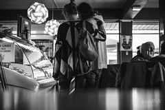 Day 6/365 (iceblinkcreative) Tags: morning flowers winter light blackandwhite bw food love caf 35mm lost cafe noir fuji atmosphere lovers photoaday fujifilm 365 dailyphoto daydreaming distractions aloofness project365 xe1 365photography fujifilmxe1