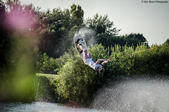 Zander big air (Dalemears) Tags: nottingham nikon cable wakeboard wakeboarding watersports skitow d7000