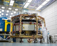 MMS at NRL (201408040001HQ) (NASA HQ PHOTO) Tags: usa dc washington nasa spacecraft cleanroom navalresearchlaboratory billingalls magnetosphericmultiscalemms magnetosphericmultiscalemmsmission