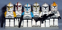Lego - Phase 1 Armor Clones (Darth Ray) Tags: star 1 lego troopers armor wars clone phase