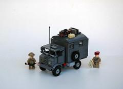 Chevrolet CMP C15 Radio Truck (LegoEng) Tags: chevrolet truck radio army lego wwii c15 palace ww2 british gin legoeng