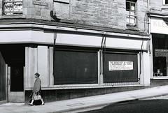 Albert Street (Dundee City Archives) Tags: old cars architecture facade buildings shopping photos dundee victorian flats era shops albertstreet shopfront shoppers victorianhousing victoriantenements olddundeephotos