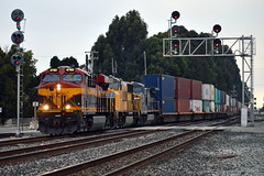 UP IDIOAX-20 (caltrain927) Tags: california city morning ex train de mexico pacific union double stack container southern international belle kansas ge emeryville extra logistics transporation csx kcs conrail uprr emd intermodal gevo c408w sd70m cw408 es44ac yn3 kcsm