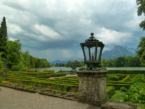 Schloss terrace