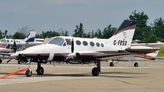 Cessna 414 pressurized twin C-FBSX - Brampton Flight Centre, Caledon, Ontario (edk7) Tags: light ontario canada plane private airplane transport twin 1975 414 cessna 2014 caledon pressurized d3200 cnc3 bramptonflyingclub bramptonflightcentre 8passenger edk7 cn4140609 cfbsx continentaltsio520jflatsixturbochargedpistonengine310hp