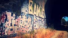 BANJO (EarlyBird-GetsDaRusto) Tags: abandoned train graffiti bay exploring banjo tunnel area graff