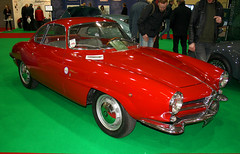 1961 Alfa Romeo Giulietta Sprint Speciale (167 YUJ) 1300cc - Race Retro 2014, Stoneleigh Park (anorakin) Tags: alfaromeo 1961 giulietta stoneleighpark raceretro alfaromeogiuliettasprintspeciale 167yuj
