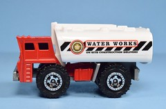 Matchbox Water Worker (FranMoff) Tags: white red cars truck diecast matchbox waterworker tanker waterworks