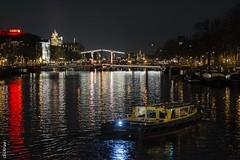 Amsterdam-at night -9658 (clickraa) Tags: amsterdam fahrräder grachten nacht abendstimmung fiets bicycles