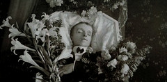 In Repose (~ Lone Wadi ~) Tags: coffin casket corpse death funeral wake deceased postmortem retro 1910s unknown