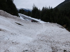 SR 20 in Skagit County (WSDOT) Tags: avalanche clearingsnow northcascadeshighway
