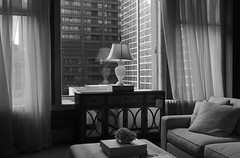 """""""Looking Out Thru Marshall Field's Window"""" - Downtown Chicago - 04 Mar 2017 (Andre's Street Photography) Tags: chicago04march20175div marshallfield fields marshallfieldcompany state street statestreet washingtonstreet statewashington downtown chicago loop theloop window architecture interior interiordesign lamp sofa furniture building elegant elegance quality macys flagshipstore blackandwhite bw bwphotography zwartwit noiretblanc blancoynegro fineart artistic photography"""