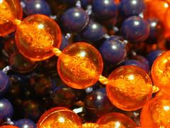 Beads (Scouse Smurf) Tags: macro beads jewellery necklace macromondays orange blue