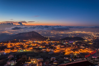 Ehden at Night, Lebanon