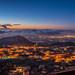 Ehden at Night, Lebanon
