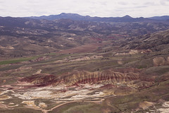 The Painted Hills (pdx.rollingthunder) Tags: paintedhills oregon johndayfossilbeds aerialphotography aerial