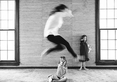 65| 365 (trois petits oiseaux) Tags: motherhood childhood family jump selfportrait kids fun play hurtle