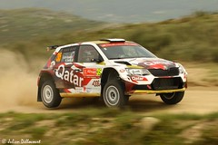 Abdulaziz Al-Kuwari / Killian Duffy (Julien Dillocourt) Tags: vodafone rally rallye portugal 2016 wrc world championship abdulaziz al kuwari duffy skoda fabia r5 baiao qatar