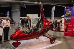 G-TGLG - 2015 build Rotorsport UK Calidus, displayed at Telford during Flyer Live 2015 (egcc) Tags: autogyro calidus flyerlive flyerlive2015 gtglg galloway gyro gyrocopter gyroplane lightroom rsukcals028 rotorsportuk telford theflyingshow theinternationalcentre