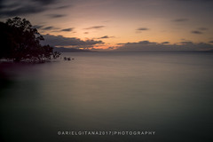 Calm nightmare (ariel gitana) Tags: arielgitana paguriranisland philippines philippinelandscape teampinas teampinoy teampilipinas nikond7100sampleshots nikond7100samplephoto tamron18200mm cacagoondfilter seascape seashore sea water sorsogoncity southluzon bicolregion nightscape outdoor