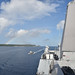 USS Somerset arrives in Guam for a scheduled port visit