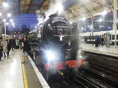 Trains at London Victoria (17/12/2016) (Tobytrainspotting13) Tags: 60163 tornado tobytrainspotting13 london victoria saturday 17th december 2016