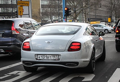 Russia (Moscow) - Bentley Continental Supersports (PrincepsLS) Tags: russia russian licnese plate 197 moscow germany berlin spotting bentley continental supersports