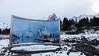 Dan Graham sculpture, Austvagoya, Lofoten, Norway (nadine3112) Tags: dangraham skulptur spiegel