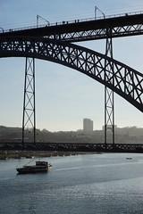 Ponte Luiz I, Porto (Marek Soltysiak) Tags: portugal porto ribeira douro river bridge ponte luiz luis eiffel gustave