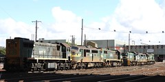 Withdrawn Locos have Been Rearranged (damoN475photos) Tags: x39 xclass x37 x42 a79 a71 aclass yclass y147 freightaustralia freightvictoria pn vline dynon 2017