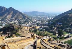 Cityscape, Amer (AsimBKK) Tags: india teavel amer landscape cityscape jaipur