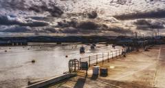 Rhyl Harbour (daveduke) Tags: rhylharbour rhyl wales northwales sonya6300 sonyilcea6300 sigma19mmf28 intothesun affinityphoto hdr