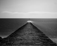 Dawlish Pier Interval Composite (Jonathan Goddard1) Tags: longexposure intervalcomposite landscape pentax water devon sky monochrome blackandwhite bw dawlish