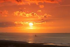 Zonsondergang op Zuiderstrand Den Haag (Rob Kints (Robk1964)) Tags: denhaag netherlands thehague westdunepark westduinpark