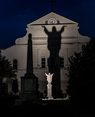 Hallelujah! (802701) Tags: religion religious religiousimagery church chapel cathedral silhouette neworleans louisiana