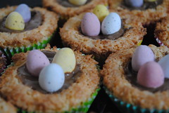 Easter nests (KT-wu) Tags: easter baking homemade mini eggs chocolate coconut