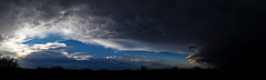 Eye of The Storm (Kyle French) Tags: storm arizona monsoon tucson desert clouds panorama