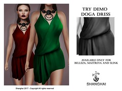 - shanghai - Doga Dress #On9 Event (- ShangHai -) Tags: second shanghai secondlife on9 fashion event monthly