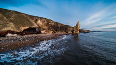 Sea and Stack (milo42) Tags: 2017 sunrise gopro groynes httpwwwloveoflandscapecom httpwwwchrisnewhamphotographycouk waves outside seaham sea