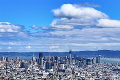 San Francisco Cityscape (paleyphotos) Tags: city sanfran san francisco bay area california cityscape landscape twin peaks views urban
