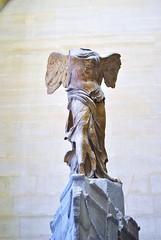 La Nike  (Vittoria Alata) (federicalepri) Tags: paris louvre nike art ellenic travel trip victory selfportrait france