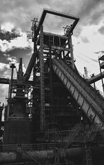 Phönix West (Pottkind_86) Tags: phönixwest dortmund industrie industry industriekultur ruhrgebiet ruhrpott stahl stahlwerk bw schwarzweiss blackandwhite