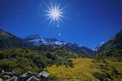 The Hooker Valley (T Ξ Ξ J Ξ) Tags: newzealand aoraki mountcook fujifilm xt1 teeje fujinon1024mmf4 day valley hooker tracks