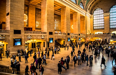 In Grand Central Station. (The city guy ☺) Tags: newyork grandcentralstation walking indoor people walkinginthecity city urban urbanexploration neighborhood architecture