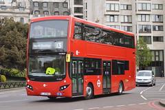 LJ17 WSU (MV38227) Tower Transit (hotspur_star) Tags: londontransport londonbuses londonbus londonbuses2017 mcvvolvoevoseti tfl transportforlondon hybridbus hybridtechnology busscene2017 doubledeck towertransit lj17wsu mv38227 13