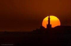 Moonrise Behind Lighthouse (Lachlan Manley Photography) Tags: lighthouse moonrise silhouette