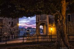 La cala a Palermo (antonino.abbruzzo) Tags: atmosfera atmosphere night chiesa church palermo