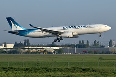 Corsair International Airbus A330-300 F-HZEN (Planes Spotter And Aviation Photography By DoubleD) Tags: plane planes aviation aeronautique aircraft widebody large jet liner liners airlines airport aeroport france french airbus a330 a330300 corsair international orly ory lfpo spotter spotting canon eos