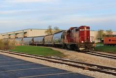 The New Boise (BravoDelta1999) Tags: chicagoterminal ctm milwaukeeroad milw railroad ilsx emd gp10 1396 bensenville illinois